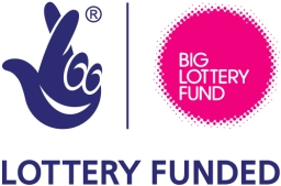 We receive funding from the Big Lottery Fund